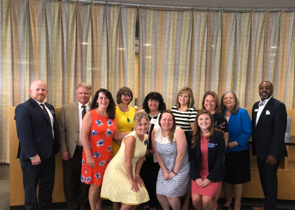 Rockland Bank luncheon group photo