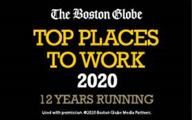 Boston Globe Best Places to Work 2020